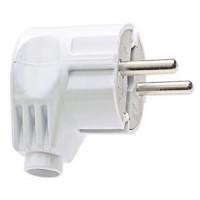 Kištukas baltas IP20 250V