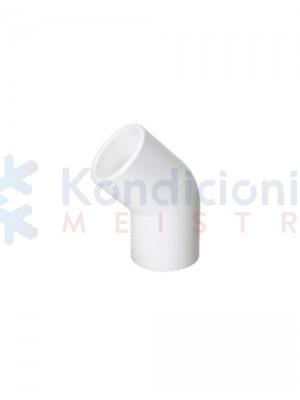 Kondensato plastikinio vamzdžio 16 mm alkūnė 105