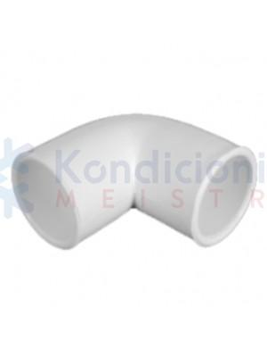 Kondensato plastikinio vamzdžio 16 mm kampas 90