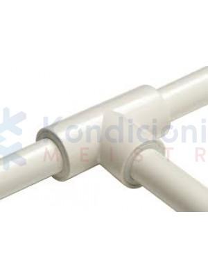 Kondensato plastikinio vamzdžio 16 mm T sujungimas