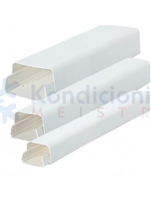 Plastikinis PVC kanalas 80x60