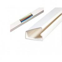 Plastikinis lipnus PVC kanalas 12.5 x 12.5  el. kabeliui