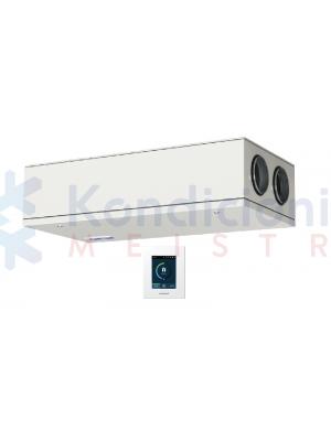 Rekuperatorius KOMFOVENT DOMEKT-CF-250-F-F7/M5-C6-L/A su priešsroviniu šilumokaičiu ir C6.1 valdikliu