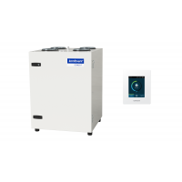Rekuperatorius KOMFOVENT DOMEKT-CF-400-V-F7/M5-C6-L/A su priešsroviniu šilumokaičiu ir C6.1 valdikliu