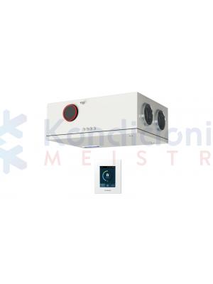 Rekuperatorius KOMFOVENT DOMEKT-R-250-F-F7/M5-C6-L/A su rotaciniu šilumokaičiu ir C6.1 valdikliu