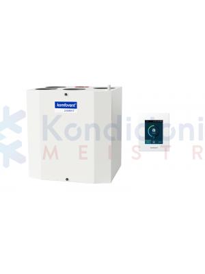 Rekuperatorius KOMFOVENT DOMEKT-R-300-V-F7/M5-C6-L/A su rotaciniu šilumokaičiu ir C6.1 valdikliu