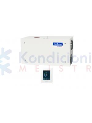 Rekuperatorius KOMFOVENT DOMEKT-R-600-H-F7/M5-C6-L/A su rotaciniu šilumokaičiu ir C6.1 valdikliu