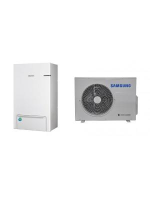 AE090RNYDEG/EU-AE060RXEDEG/EU SAMSUNG 6.0/6.5 kW split (be tūrinio šildytuvo) oras-vanduo šilumos siurblys