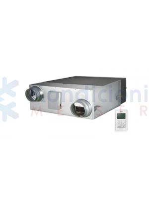 Samsung rekuperatorius AN080JSKLKN/EU su priešsroviniu šilumokaičiu ir valdikliu